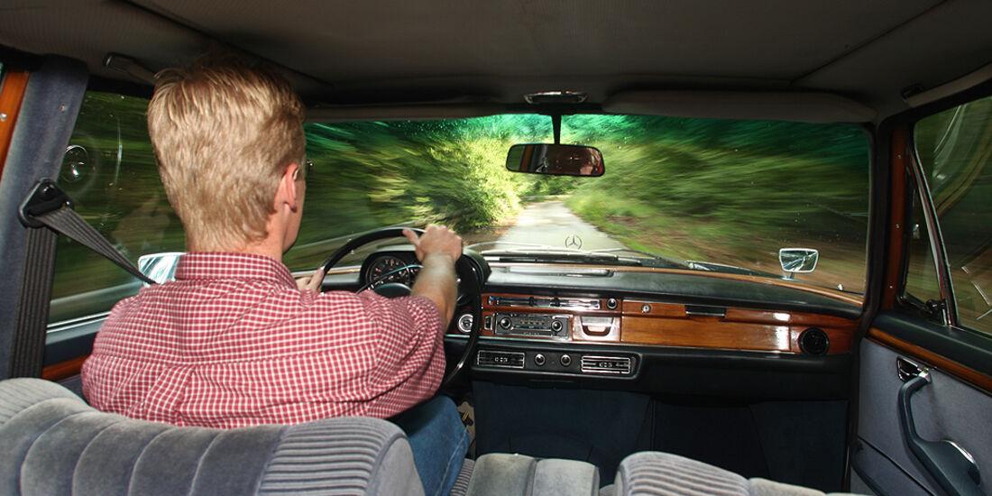 Mercedes-Benz 300 SEL 6.3, Hartmut Rauter