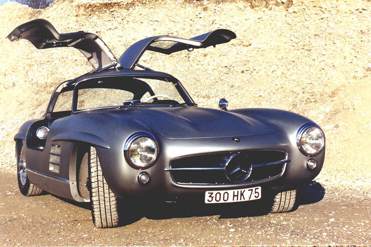 Mercedes-Benz 300SL Coupe - Rubirosa