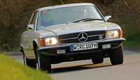Mercedes-Benz 350 SLC , Frontansicht