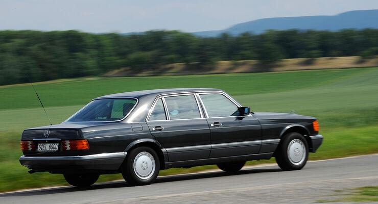 Kaufberatung mercedes benz 380 se 560 sel w126 auto for Mercedes benz detailing