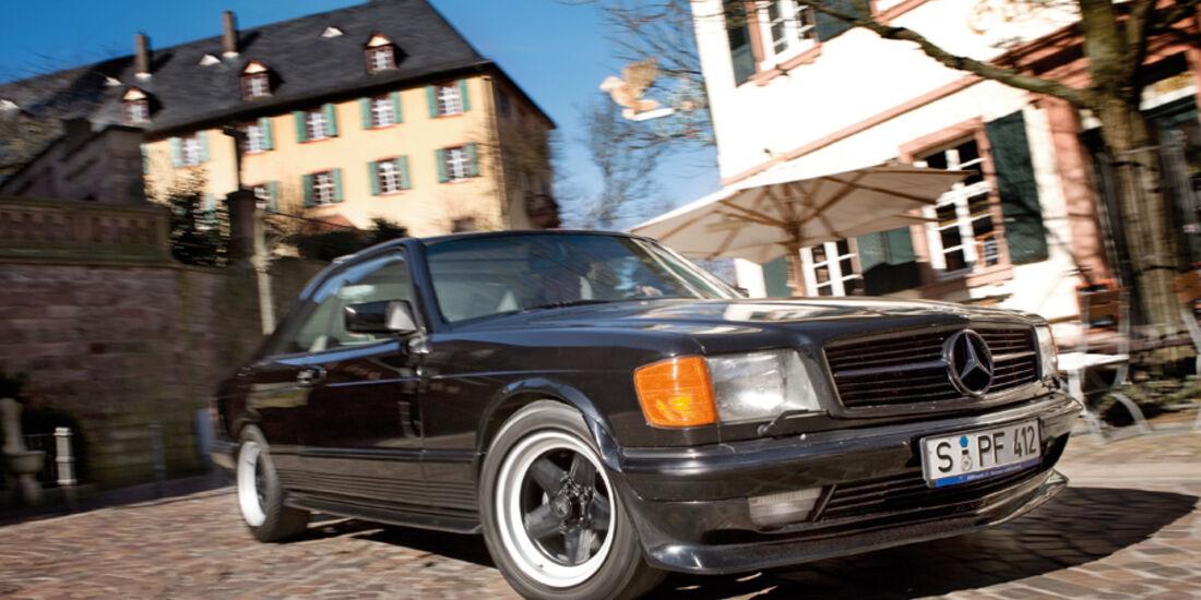 Mercedes-Benz 500 SEC-AMG - Frontansicht