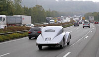 Mercedes-Benz 540 K Stromlinienwagen, Heckansicht