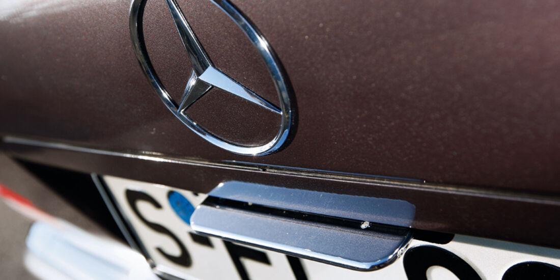 Mercedes-Benz 600 SEL, Kofferraumklappe