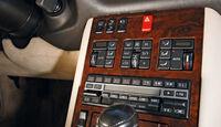 Mercedes-Benz 600 SEL, Mittelkonsole