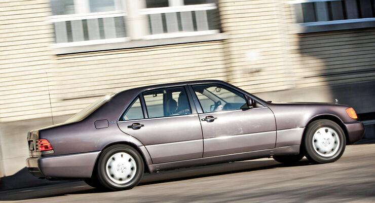 Mercedes-Benz 600 SEL/S 600, Seitenansicht