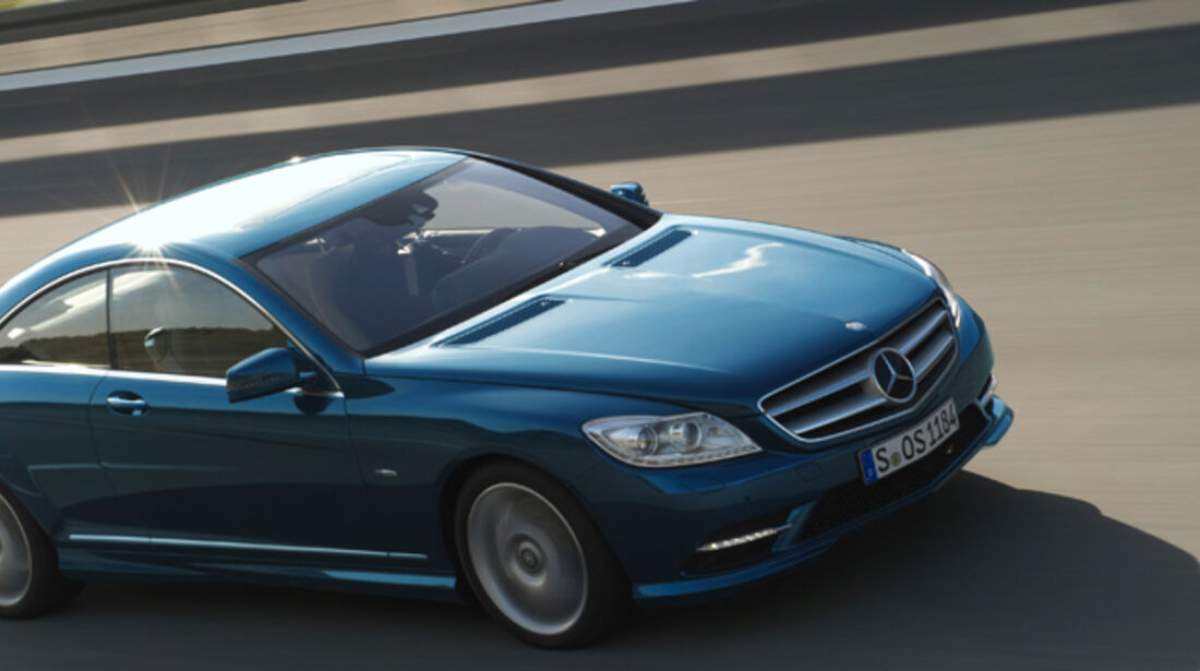 Mercedes-Benz CL 2010, Luxus-Coupé
