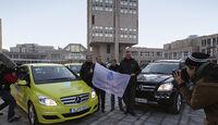 Mercedes-Benz F-Cell World Drive, Mercedes B-Klasse F-Cell, Start