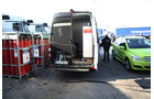 Mercedes-Benz F-Cell World Drive, Mercedes B-Klasse F-Cell, Wasserstoff-Tankstelle