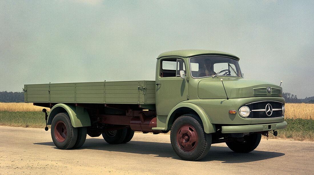Mercedes-Benz L 337 (1959) Kurzhauber schwere Klasse
