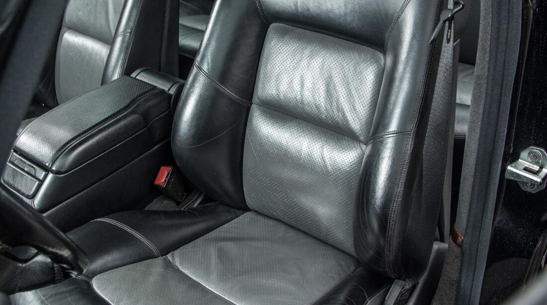 Mercedes-Benz S600, Fahrersitz