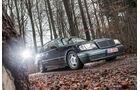 Mercedes-Benz S600, Frontansicht