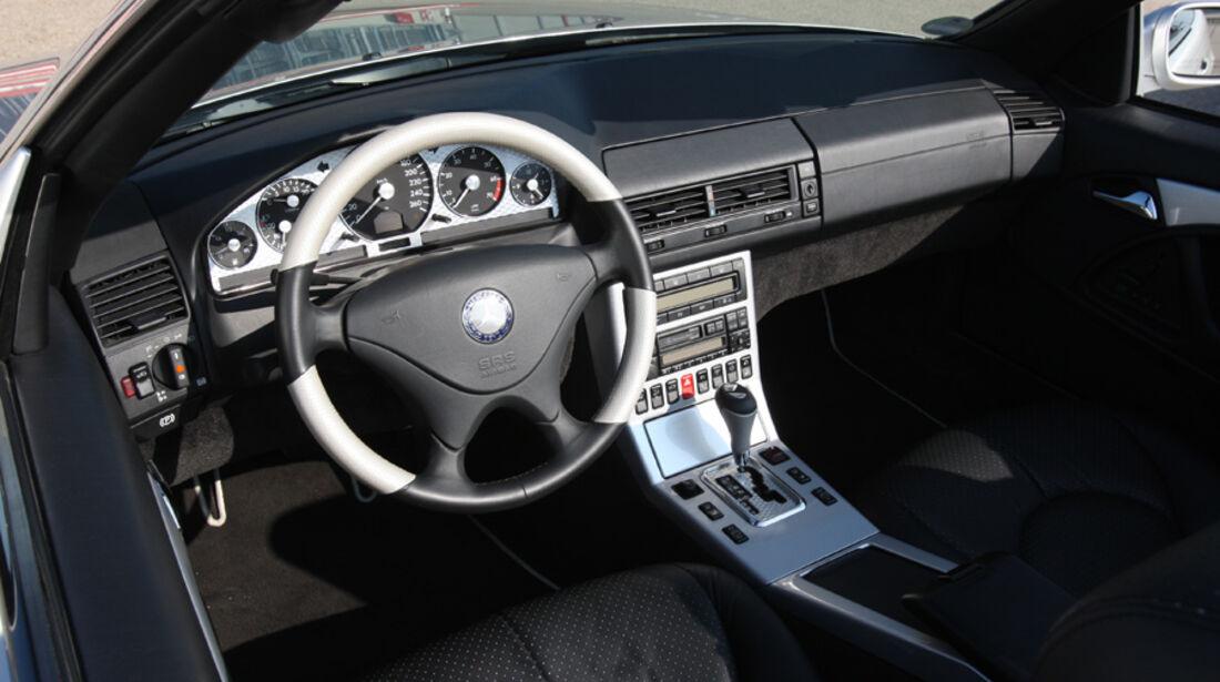 Mercedes-Benz SL 500  (R 129), Cockpit