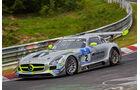 Mercedes-Benz SLS AMG GT3 - Black Falcon - Startnummer: #2 - Bewerber/Fahrer: Yelmer Buurman, Andreas Simonsen, Adam Christodoulou, Bernd Schneider - Klasse: SP9 GT3
