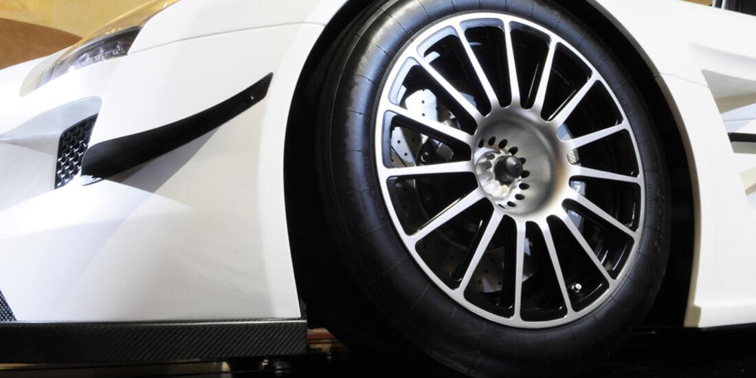 Mercedes-Benz SLS AMG GT3 Flügeltürer Rad