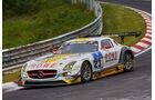 Mercedes-Benz SLS AMG GT3 - ROWE Racing - Startnummer: #23 - Bewerber/Fahrer: Klaus Graf, Christian Hohenadel, Nico Bastian, Thomas Jäger - Klasse: SP9 GT3