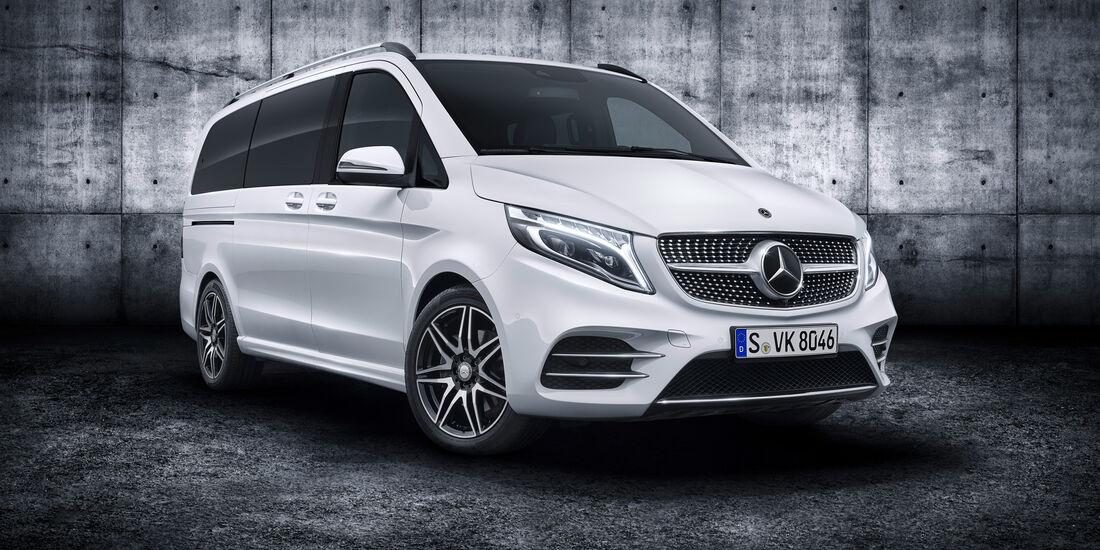 Mercedes-Benz V-Klasse Modellpflege 2019