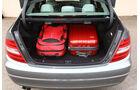 Mercedes C 180, Kofferraum, Ladefläche
