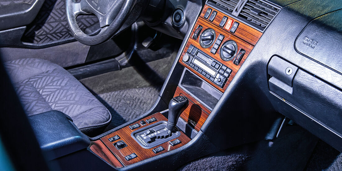 Mercedes C 180, Mittelkonsole