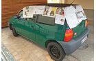 Mercedes C 180, Seat Arosa, Lans End, Reise, Impression