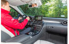 Mercedes C 180 T, Cockpit, Fahrersicht