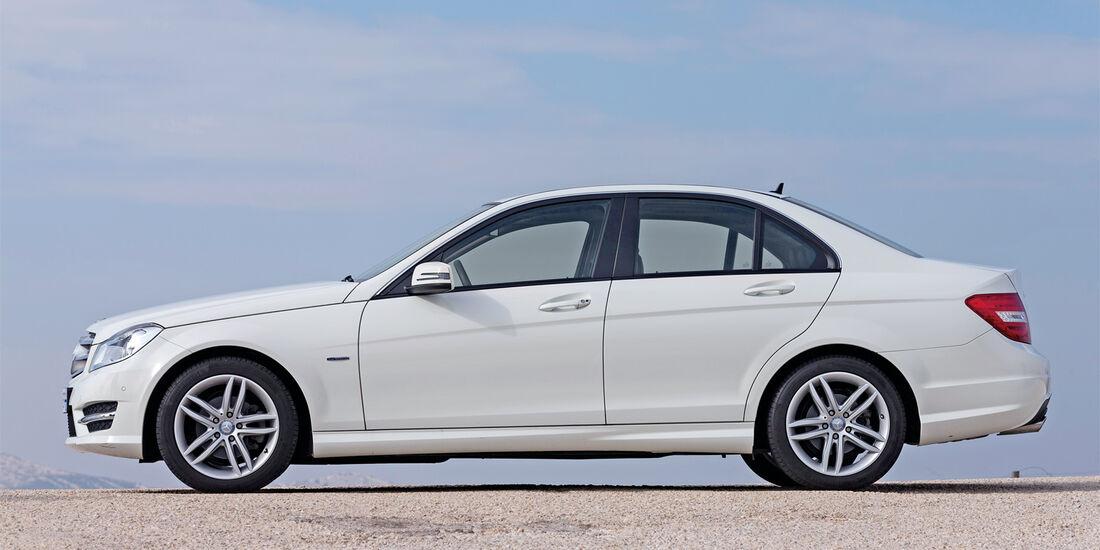 Mercedes C 200 CDI, Seitenansicht