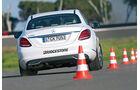 Mercedes C 200, Heckansicht
