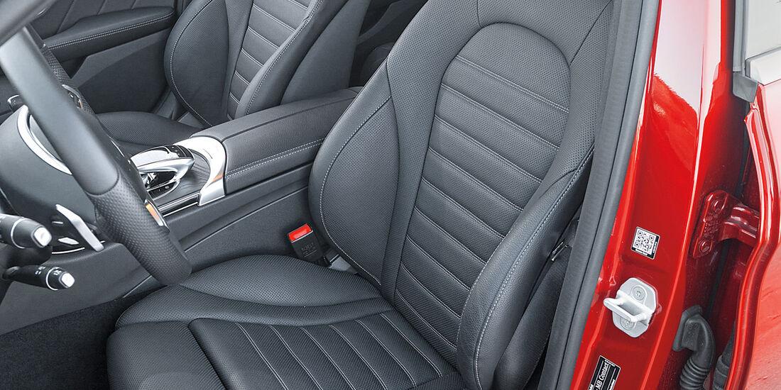 Mercedes C 250 d 4Matic T, Fahrersitz