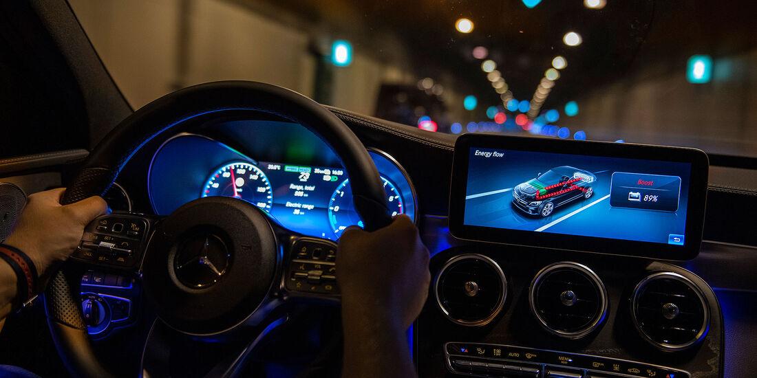 Mercedes C 300 de T-Modell Plug-in Hybrid W 205 (2018)