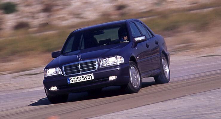 v8 für kenner: mercedes c 43 amg - auto motor und sport