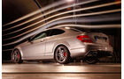 Mercedes C 63 AMG Coupé Performance Package, Heckansicht, Windkanal
