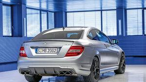 Mercedes C 63 AMG Coupé Performance Package, Heckansicht