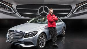 Mercedes C-Klasse Sitzprobe