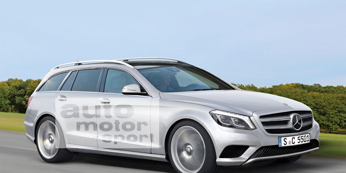 Mercedes C-Klasse T-Modell, Seitenansicht