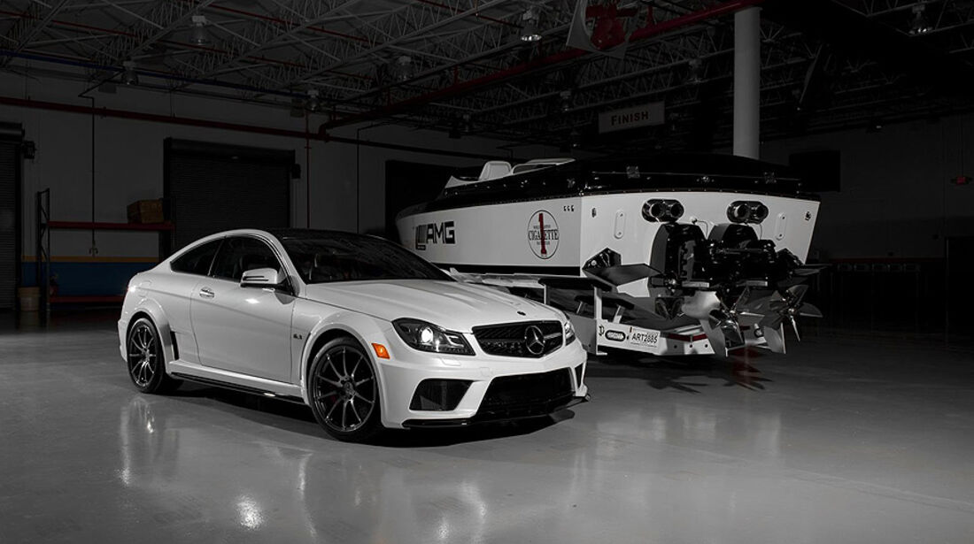 Mercedes C63 AMG Black Series Speedboot