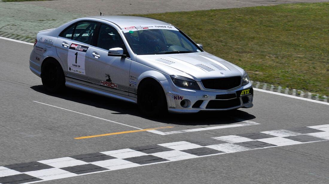 Mercedes C63 AMG, Finallauf, TunerGP 2012, High Performance Days 2012, Hockenheimring, sport auto