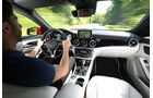 Mercedes CLA 180, Cockpit, Fahrer