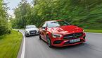 Mercedes CLA 250 4Matic, Audi A3 Limousine 40 TFSI Quattro, Exterieur