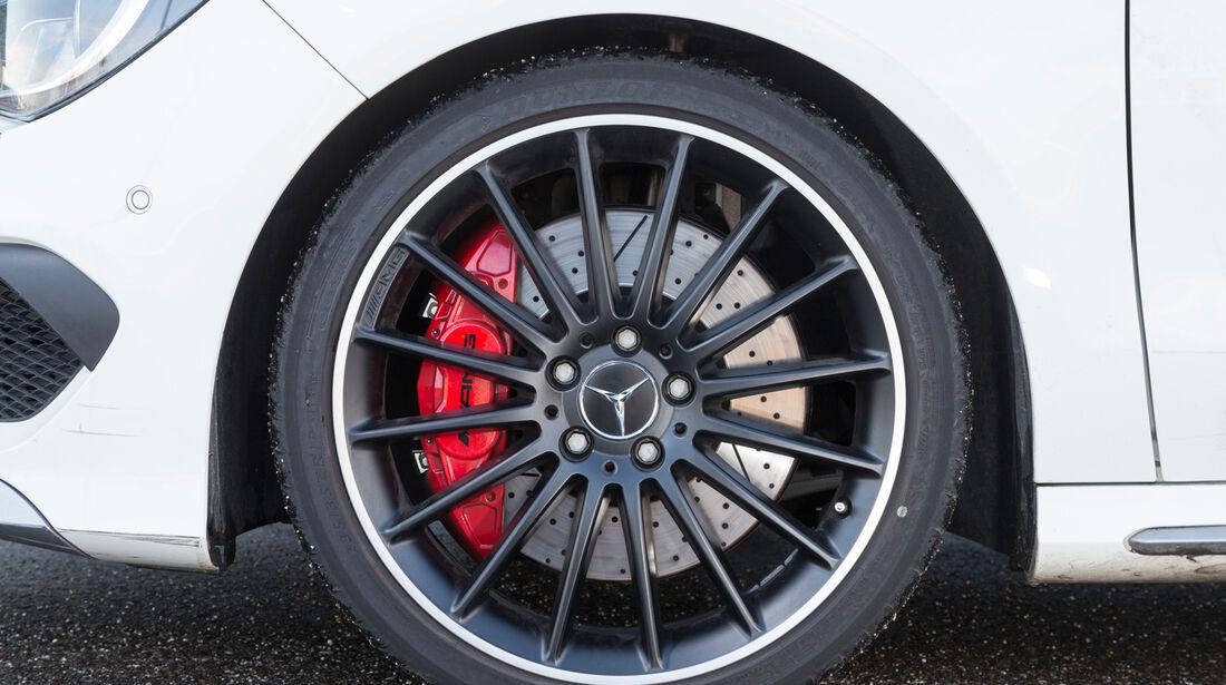 Mercedes CLA 45 AMG, Rad, Felge, Bremse