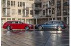 Mercedes CLA Shooting Brake, Mercedes C-Klasse T-Modell, Seitenansicht