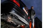 Mercedes CLK 63 AMG Coupé, Endrohre