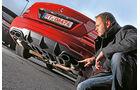Mercedes CLK 63 AMG, Heck, Auspuff