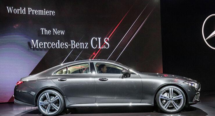 Mercedes CLS (2018) Exterieur
