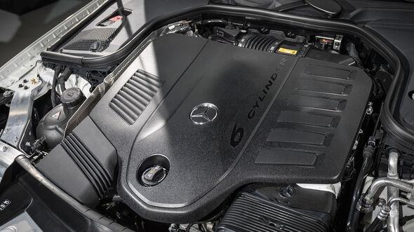 Mercedes CLS (2018) Sitzprobe Neuer Reihen-6-Zylinder