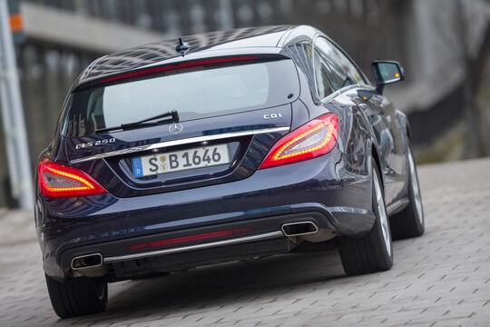 Mercedes CLS 250 CDI SB, Heckansicht