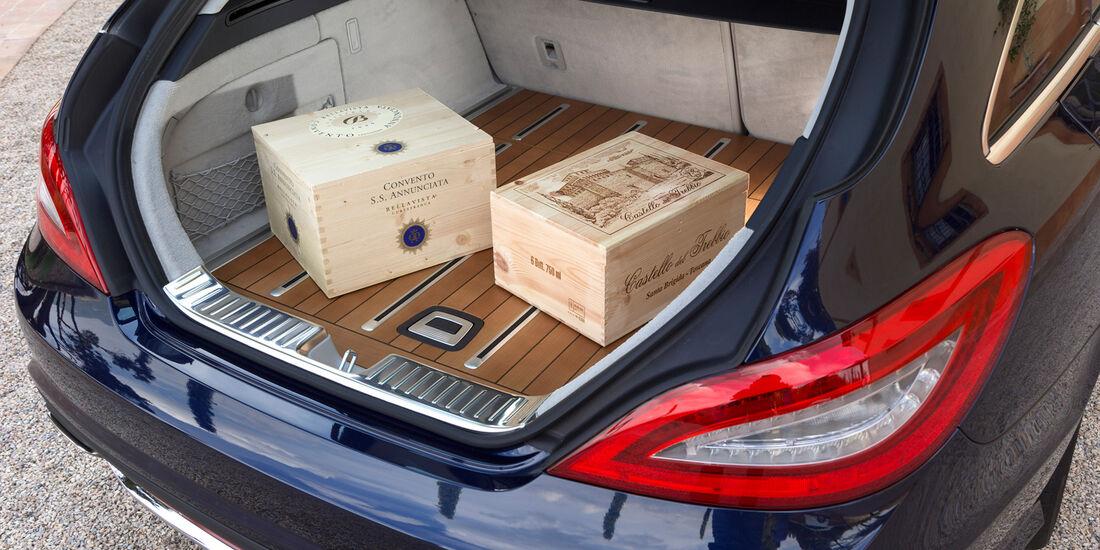 Mercedes CLS 250 CDI Shooting Brake, Kofferraum, Ladefläche
