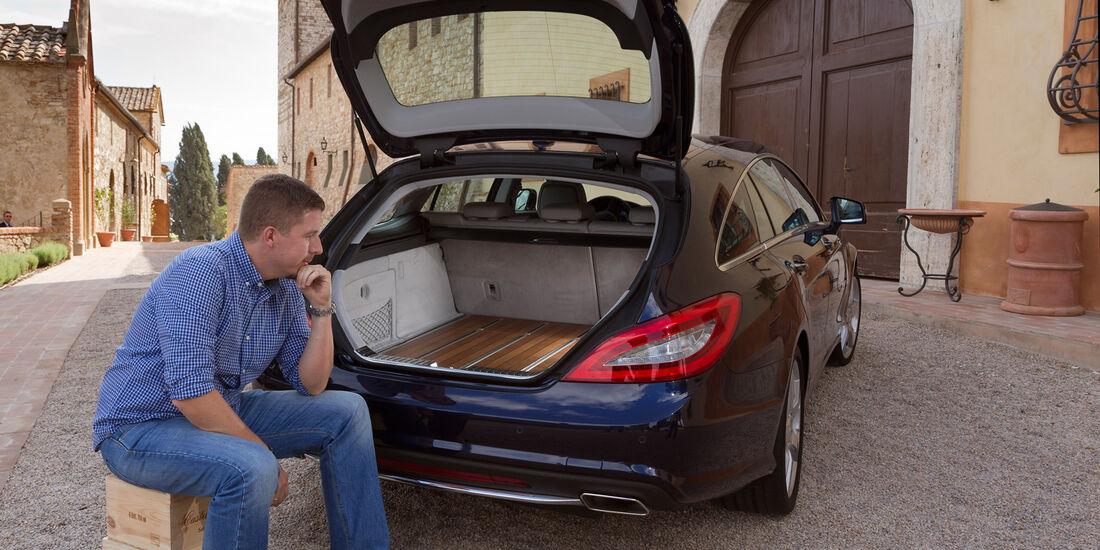 Mercedes CLS 250 CDI Shooting Brake, Kofferraum