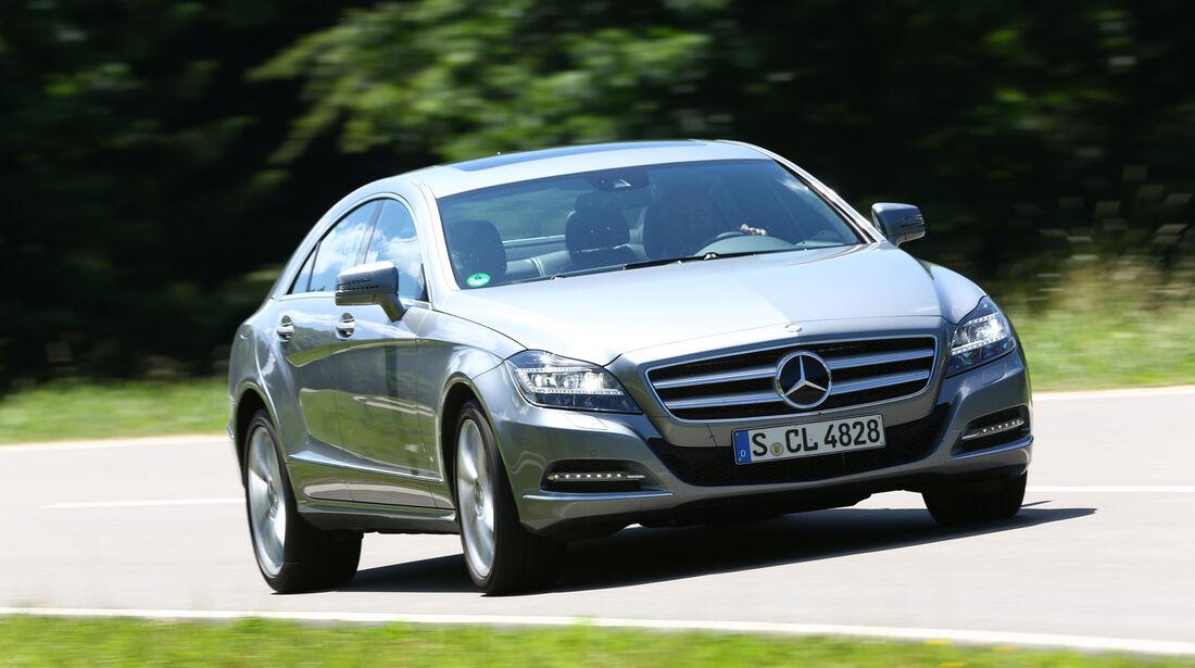Mercedes CLS 350, Frontansicht
