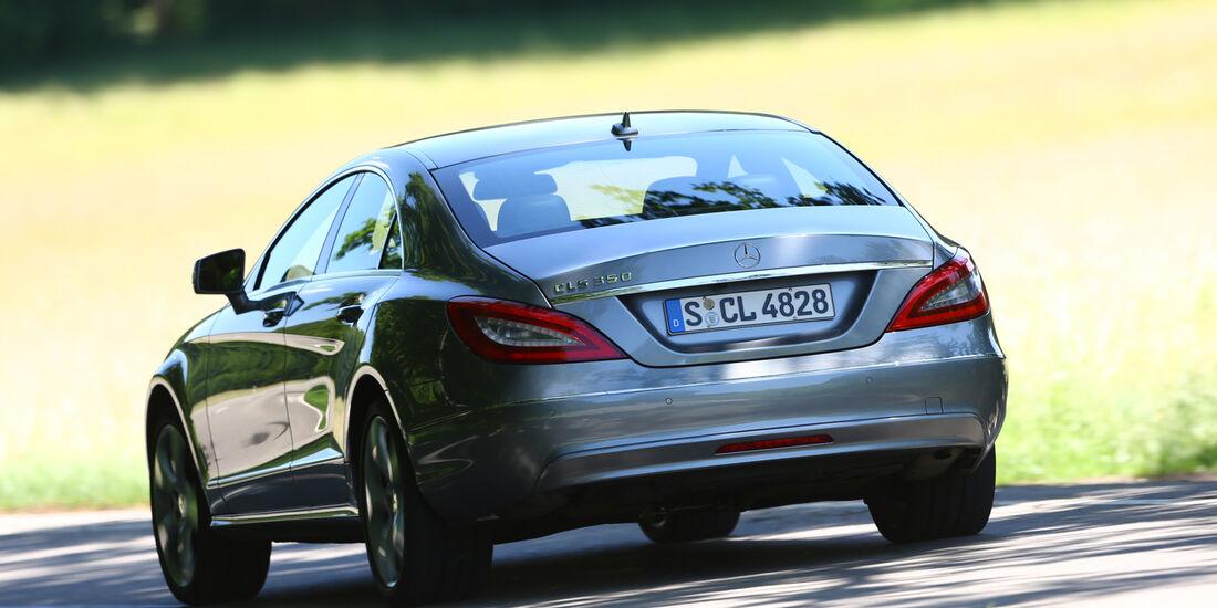Mercedes CLS 350, Heckansicht