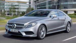 Mercedes CLS 400, Frontansicht