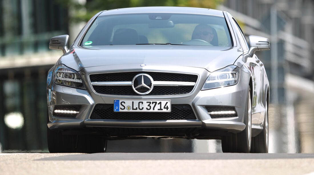 Mercedes CLS 500 4matic, Frontansicht